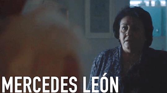 Fotograma del videobook de Mercedes León